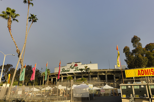 ERIC DOES THE ROSE BOWL