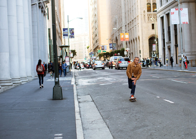 NEW YORKERS ROLL THROUGH SAN FRAN / THE HILL-SIDE X UNIONMADE