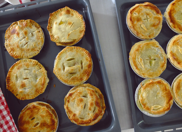CLASSIC PIES, MEAT OR VEG.