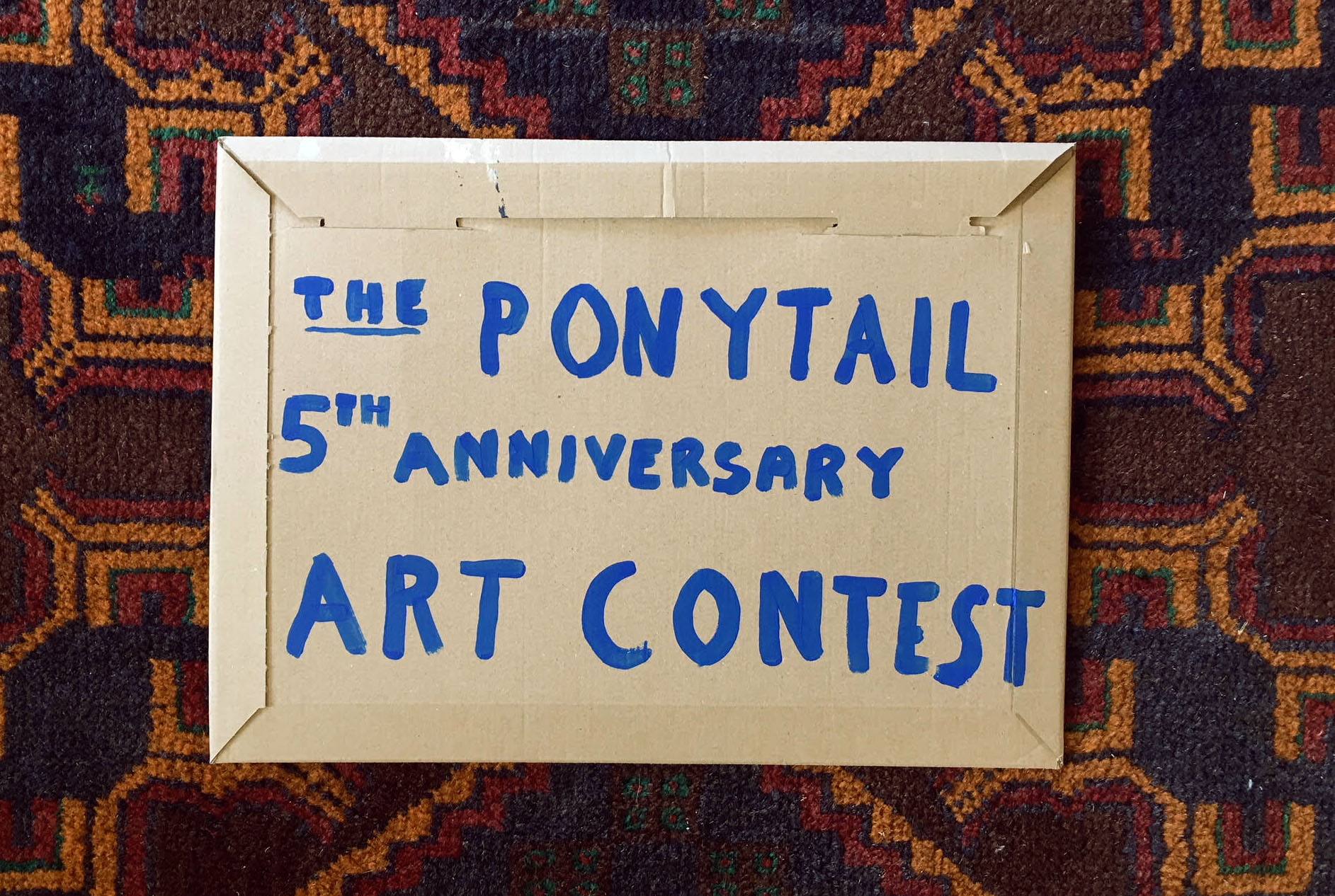 PONYTAIL 5TH ANNIVERSARY ART CONTEST