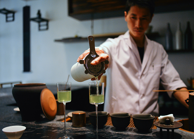 THE FRESHEST TEA EXPERIENCE IN THE WORLD AT SOUEN.