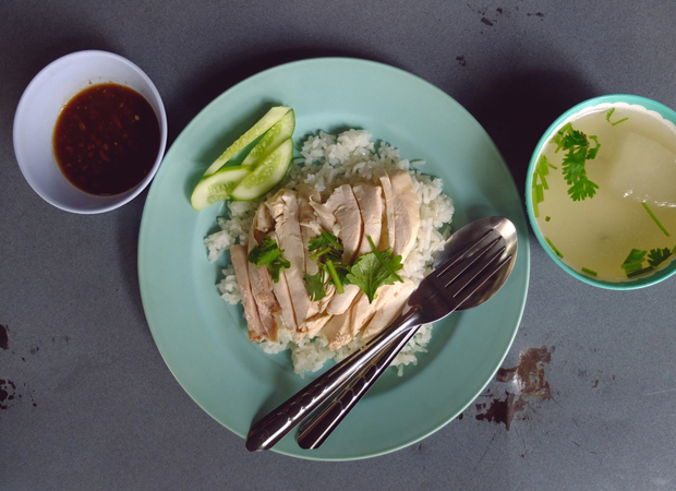 CHICKEN RICE, MY FAVOURITE WAY.