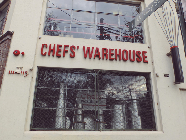 MY KITCHENWARE HAPPY PLACE / CHEFS' WAREHOUSE