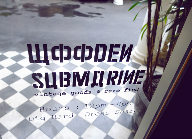 ONE OF EVERYTHING PLEASE / WOODEN SUBMARINE VINTAGE GOODS, BANGKOK